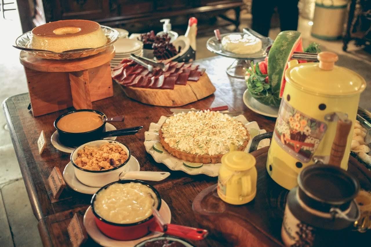 Mesa de sobremesa Fazenda Paraíso